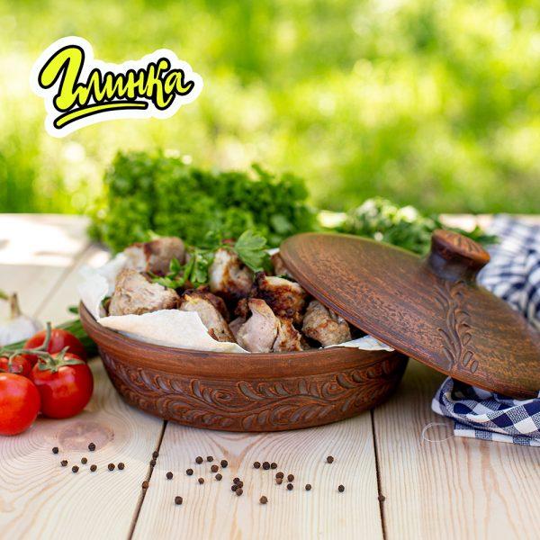 Сковорода (резная) 26 см 1,5 л