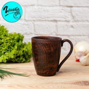 Чашка глиняная (гладкая) 350 мл